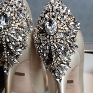 Badgley mischka amazing shoes.